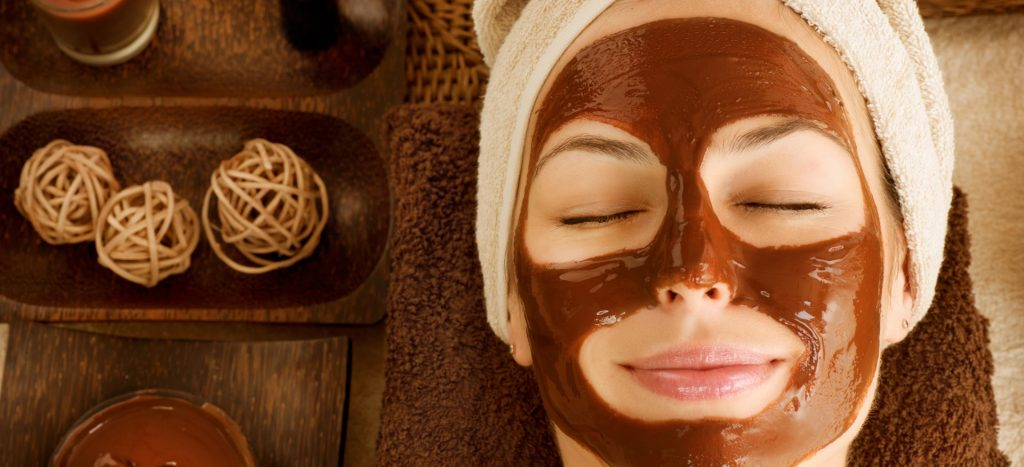 chocolate - provides nourishment to skin