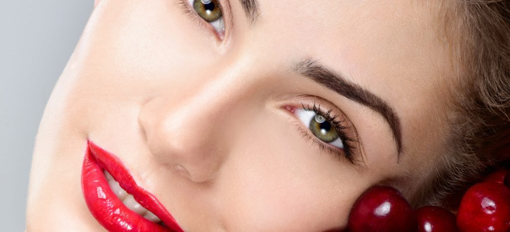 red cherries gives younger looking skin