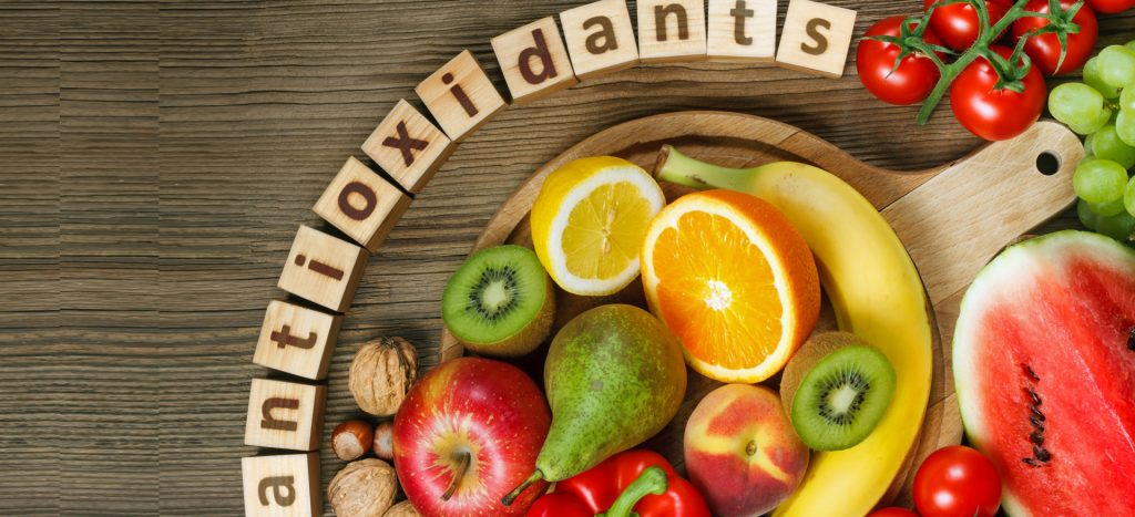 food rich with antioxidants