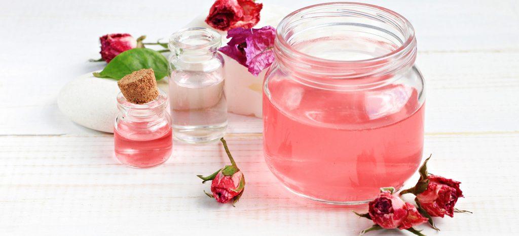 rose water - for cleansing & toning skin