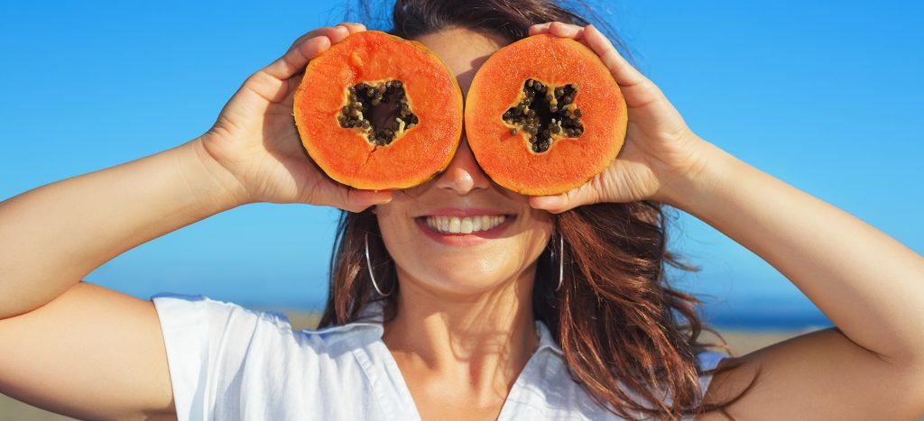 papayas - for wrinkles free skin