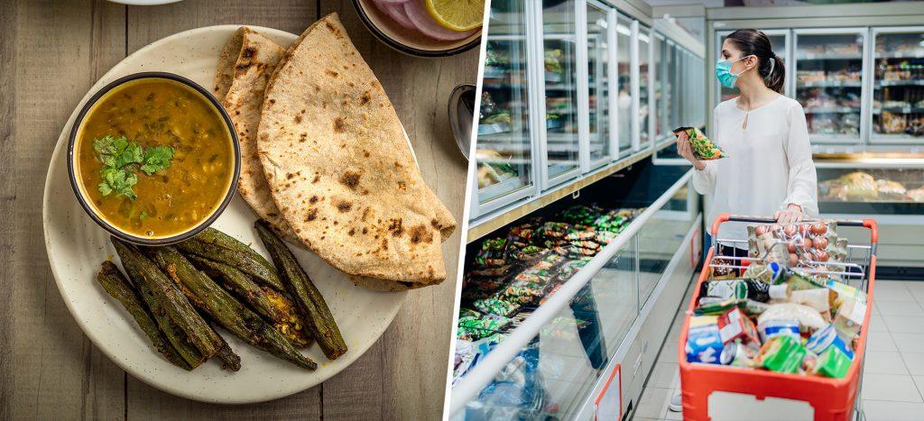 roti, chawal vs. ready to eat meals