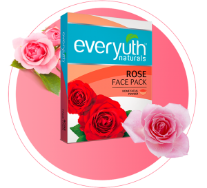 everyuth rose face pack for dull skin