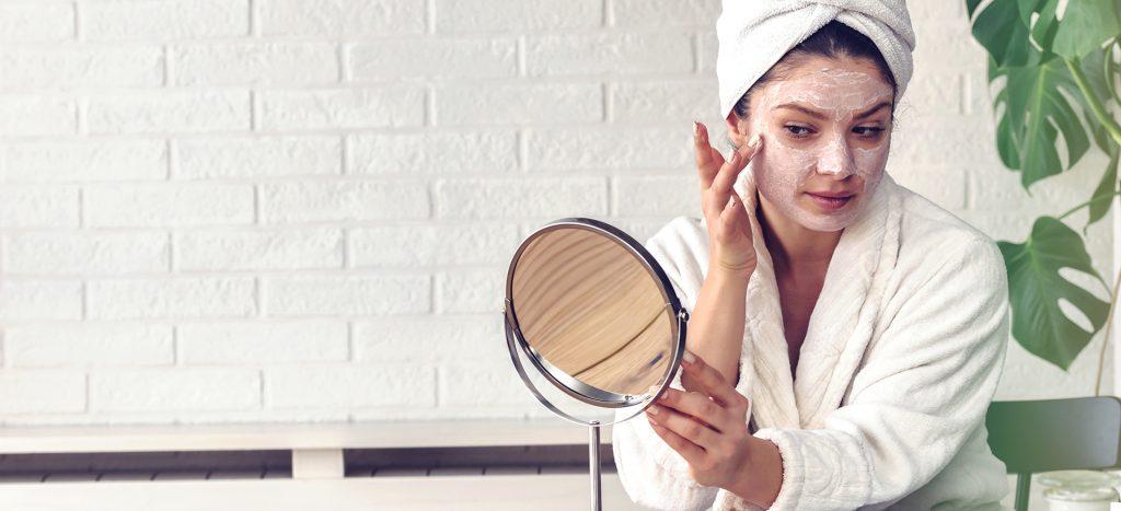 acne prone skin peel off