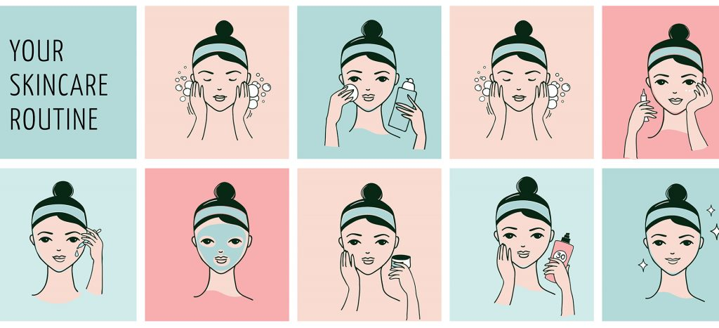 skincare routine for teenage girls