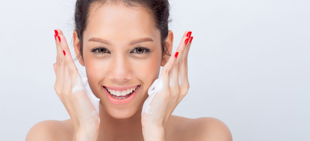 monsoon skincare tip - 2 - cleansing