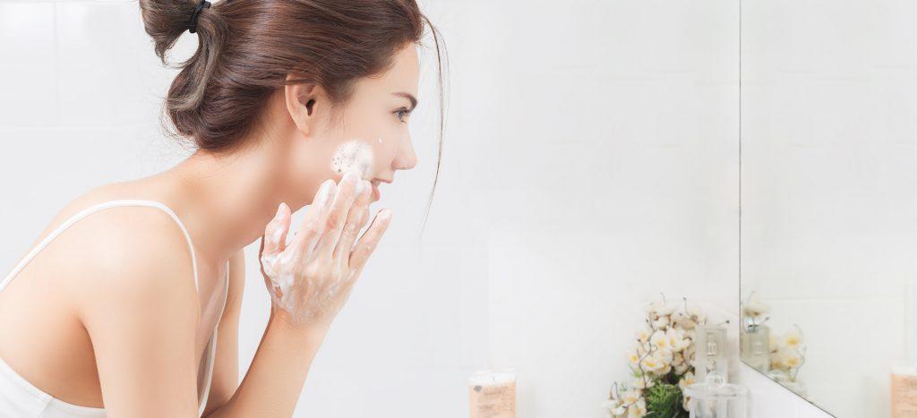 monsoon do's for skin - cleansing