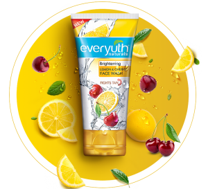 everyuth lemon cherry face wash