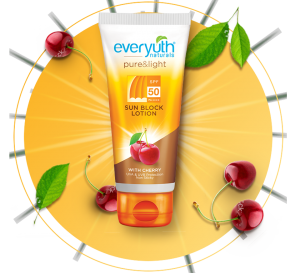 everyuth sunblock lotion