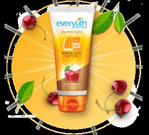 everyuth spf 50 sunblock lotion