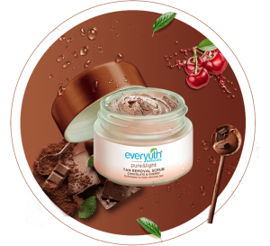 everyuth chocolate tan scrub