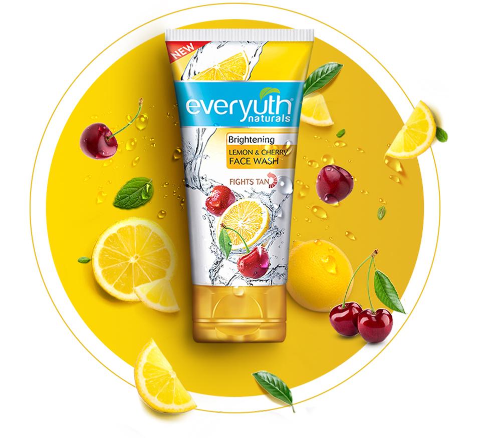 Everyuth Lemon Cherry Face wash