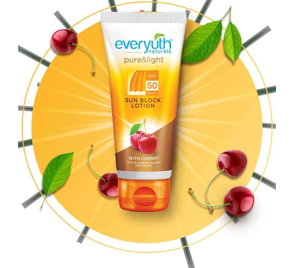 Everyuth Naturals Sunblock Lotion