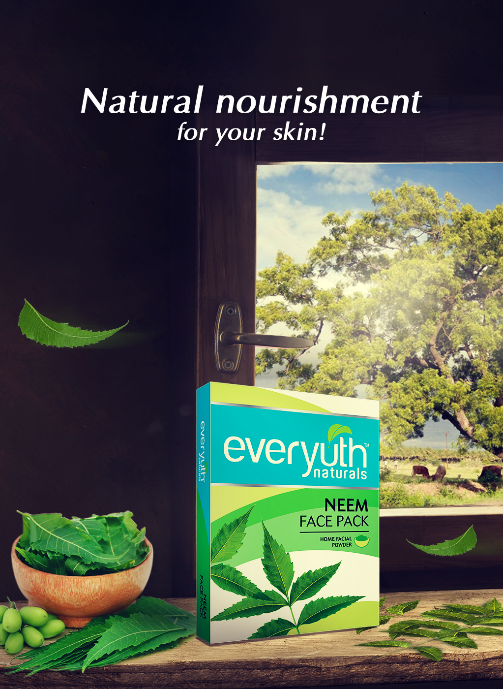Neem Powder Face Pack from Everyuth Naturals