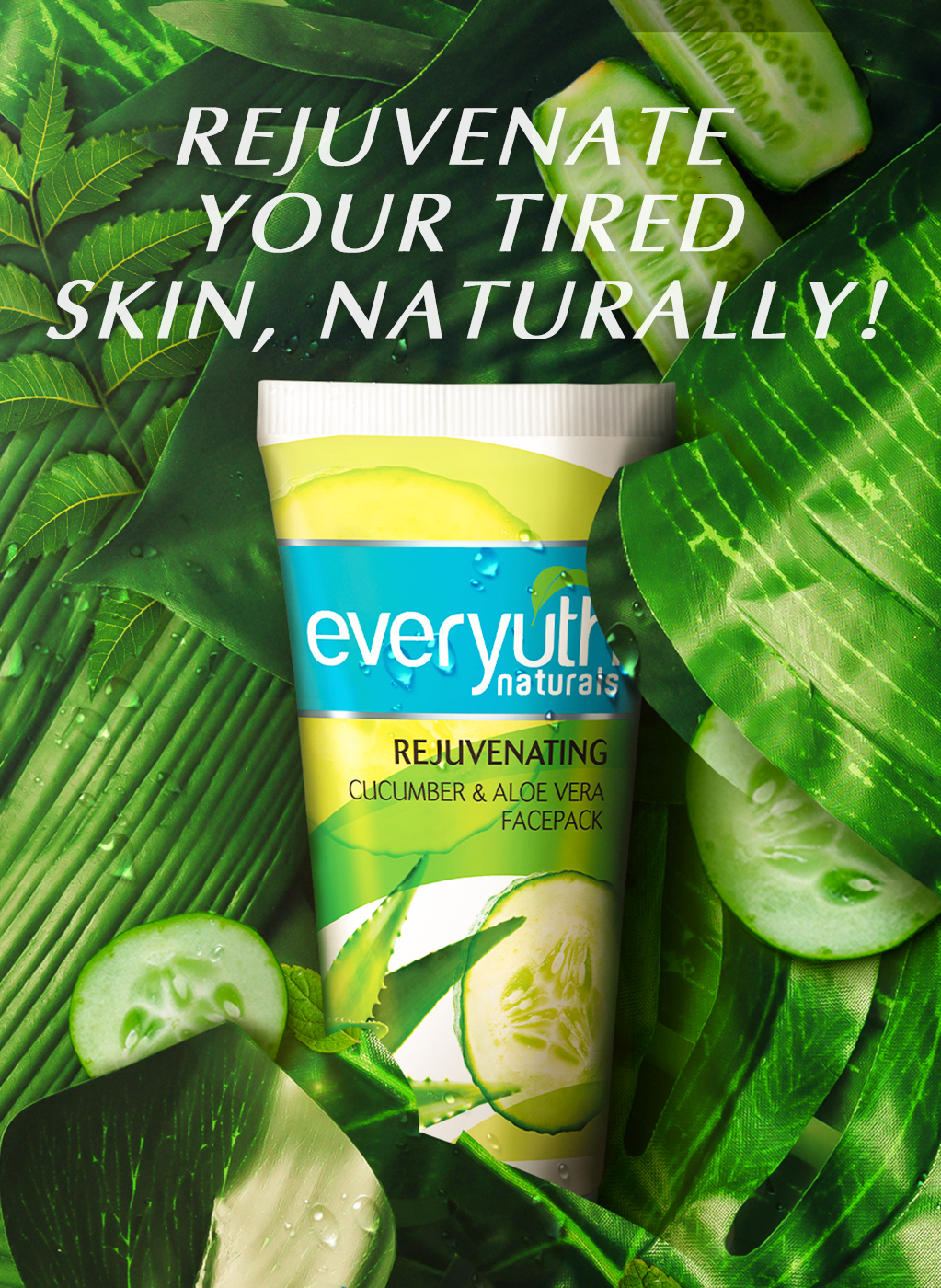 Everyuth Naturals Rejuvenating Face Pack