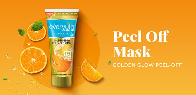Everyuth Naturals - Golden Glow Peel Off Mask