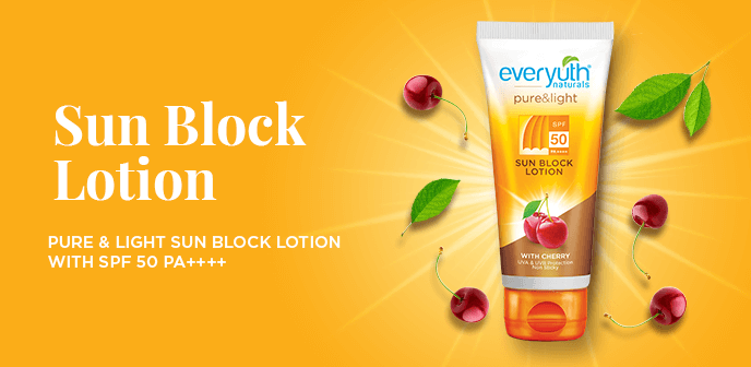 Everyuth Sun Block Lotion