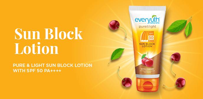 Everyuth Sun Block Lotion