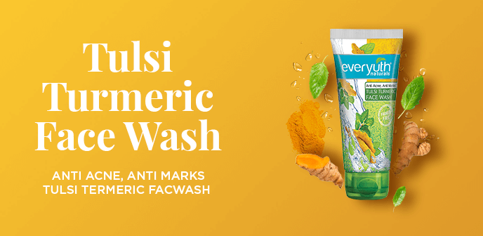 Tulsi Turmeric Face Wash