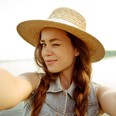 This World Selfie Day, Show-Off Your Naturally Glowing Skin