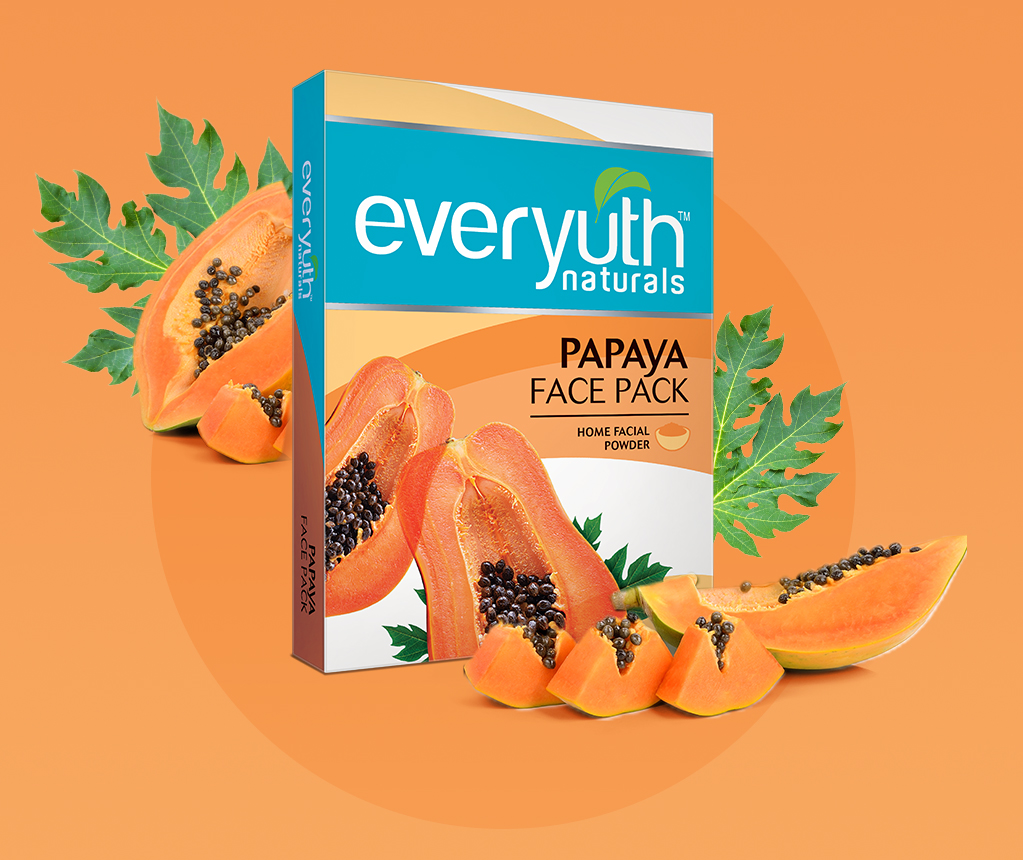 Best Face Pack For Pimples & Glowing Skin from Everyuth Naturals