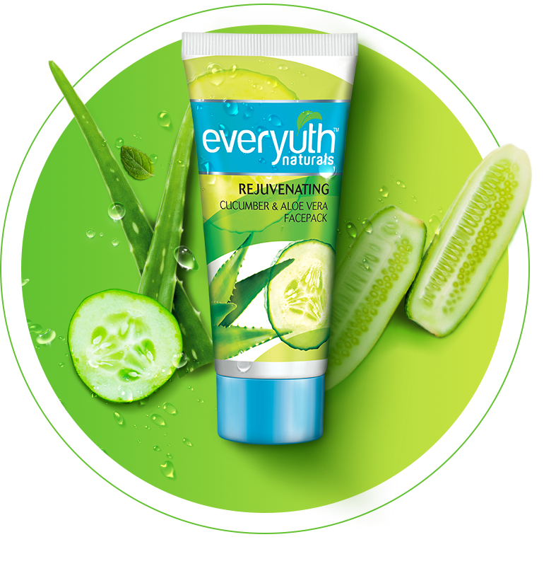 Best Face Pack For Dry & Oily Skin from Everyuth Naturals