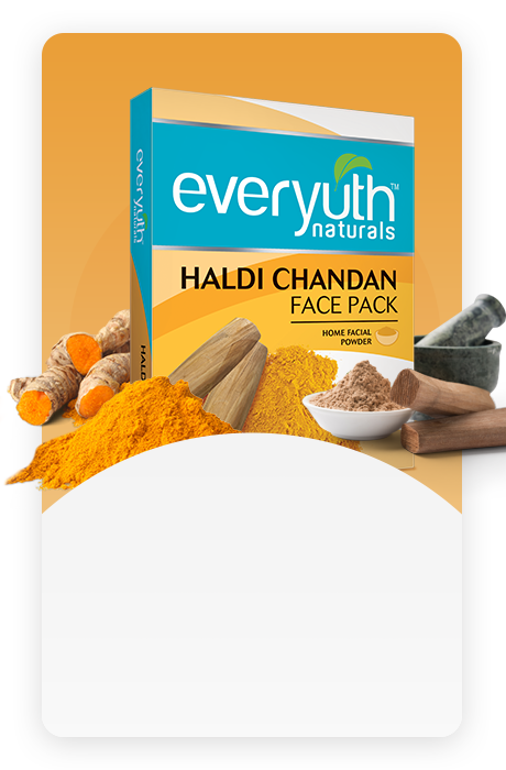 Haldi Chandan Face pack - Everyuth Naturals