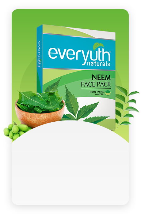 Neem Face Pack for Pimples from Everyuth Naturals