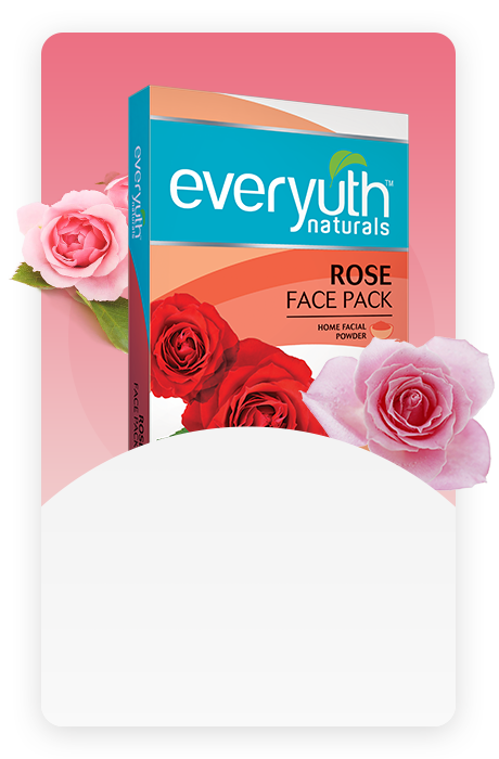 Rose Face Pack For Clear Skin From Everyuth Naturals