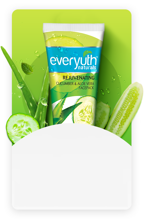 Cucumber & Aloe Vera Face Pack - Everyuth Naturals